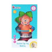 Chrastítko opička s přísavkou Bam Bam
