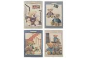 Dárková taška s medvídky 31,5 x 45,5 x 19 cm