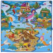Scarlett dětský kobereček PVC Mořská panna - 120 x 100 cm