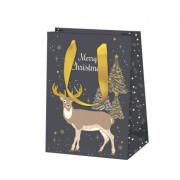 Vánoční dárková taška 15 x 22 cm Sob