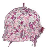 Dívčí kšiltovka zavazovací Motýlci RDX