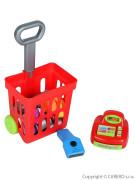 Dětský nákupní košík s příslušenstvím Bayo 27 ks