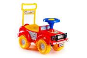 Odrážedlo auto červené 53,5x48,3x26 cm