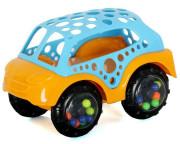 Mini autíčko Bam Bam Modrá+oranžová