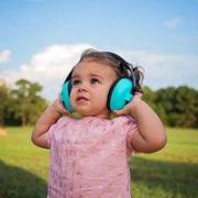 Baby Banz - Ochrana sluchu dětská tyrkysová Baby 3m+