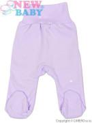Polodupačky 100% bavlna fialové New Baby