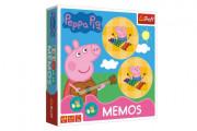 Pexeso papírové Prasátko Peppa/Peppa Pig společenská hra