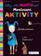 Kniha Velký, větší, NEJVĚTŠÍ sešit Montessori aktivity