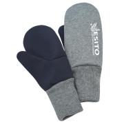Palcové rukavice softshell Duo Esito šedá