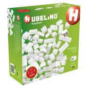 HUBELINO Kuličková dráha - kostky bílé 60 ks