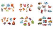 Naučné puzzle 8 zvířátek Puzzlika