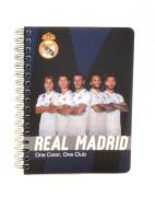 Kroužkový blok A6 Soft Real Madrid
