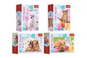 Minipuzzle 54 dílků Domácí zvířata