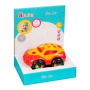 Mini autíčko Bam Bam Červená+žlutá