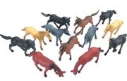 Zvířátka v tubě - koně 12 ks mobilní aplikace pro zobrazení zvířátek