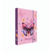 Box na sešity A4 Jumbo Motýl