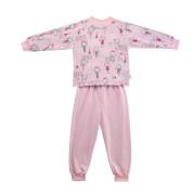 Dívčí pyžamo Paris růžová Esito vel. 92 - 122