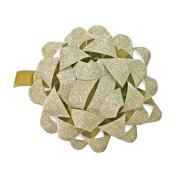Dárková mašlička zlatá 80mm