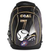 Batoh Goal - černý - zlaté zipy - číslo 7