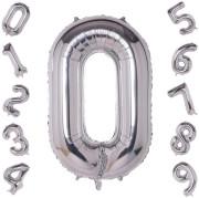 ALBI Nafukovací číslice - Stříbrná 41 cm