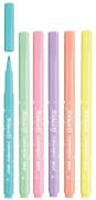 Fixy Colorella pratelné pastelové 6 ks
