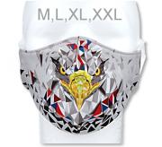 Funkční designová rouška z materiálu Coolmax Orel RDX