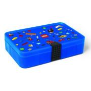 Úložný box s přihrádkami LEGO Iconic - Modrá