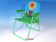 Židlička/Židle Krtek polyester/kov 50 cm