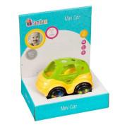 Mini autíčko Bam Bam Zelená+žlutá