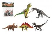 Dinosaurus 15-18 cm 5 ks