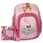 Školní batoh Cool Cherry set - 4dílná sada Just Girls