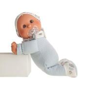 Moje první panenka - chlapeček s měkkým látkovým tělem 36 cm