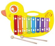 Dřevěný xylofon - kačenka Viga