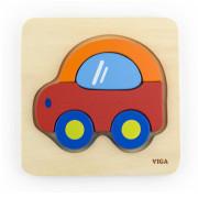 Puzzle pro nejmenší - autíčko Viga