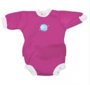 Baby neoprén-body - růžová