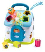 Cotoons baby domeček vkládací modrý