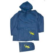 Pláštěnka Salamander+pytlík Pidilidi Modrá