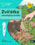 ALBI Kouzelné čtení Samolepková knížka Zvířátka