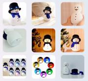 Lampička Snowman s melodií