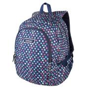 Studentský batoh Target Modrý s puntíky