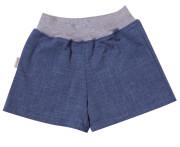 Dívčí šortky Jeans bez lemu MKCool