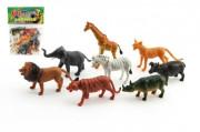 Zvířátka safari ZOO 8ks v sáčku