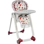 Židlička jídelní Polly Progres5 Chicco - Cherry 2 . JAKOST