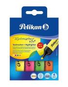 Pelikan - Zvýrazňovač 490 - 4ks