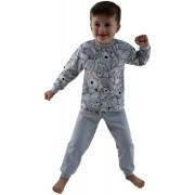 Bavlněné pyžamo Brumla šedé Esito