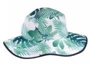 Dětský UV klobouček Baby Banz Tropical oboustranný 0 - 2 roky