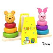 Disney Dřevěná balanční hra Medvídek Pú a Prasátko