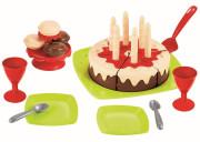 Narozeninový dort s příslušenstvím