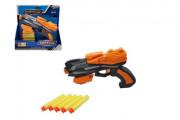 Pistole na pěnové náboje + 5ks nábojů