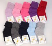 Kojenecké froté teplé ponožky vel. 1 (20-22)